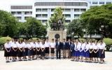ดร.พิเชฐ ให้โอวาทเยาวชนไทยผู้ได้รับคัดเลือกเข้าแข่งขันโครงงานวิทยาศาสตร์ก่อนบินไปต่างแดน