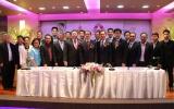 """4 องค์กร (เอ็มเทค / กยท. / ส.อ.ท. / ม.อ.) สานพลัง """"เครือข่ายนวัตกรรมยางพารา"""" ร่วมมือพัฒนายางพารารอบด้าน เพิ่มขีดความสามารถการแข่งขันของไทย"""