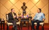 เอกอัครราชทูตสหราชอาณาจักรประจำประเทศไทย เข้าเยี่ยมคารวะ รมว.วท. พร้อมหารือความร่วมมือด้าน วทน.