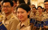 พิธีมอบเกียรติบัตรและเข็มเชิดชูเกียรติข้าราชการพลเรือนดีเด่น ประจำปี 2558