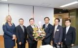รัฐมนตรีว่าการกระทรวงวิทยาศาสตร์ฯ ให้การต้อนรับประธานหอการค้าร่วมต่างประเทศในประเทศไทย (JFCCT)