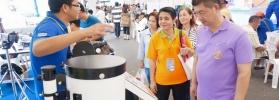 รองปลัดกระทรวงวิทยาศาสตร์ฯ เดินทางเยี่ยมชมบูธนิทรรศการผลงานนวัตกรรมและเทคโนโลยีไทยเพื่อ SMEs
