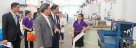 ดร.พิเชฐฯ รมว.วิทยาศาสตร์ฯ และผู้บริหารระดับสูง ตรวจความพร้อมพิธีเปิดงานนวัตกรรมและเทคโนโลยีไทยเพื่อ SMEs