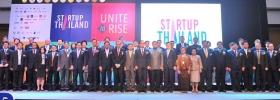 พิธีเปิดงาน Startup Thailand 2016 และ ถ่ายภาพร่วมกัน