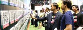 รมว.วิทย์ฯ เยี่ยมชมบูธผู้ประกอบการภายในงาน Startup Thailand 2016 ทั้งหน่วยงานภาครัฐ และเอกชน กว่า 200 บูธ