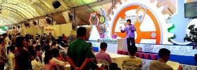 ผู้สนใจงานนวัตกรรมและเทคโนโลยีไทยเพื่อ SMEs วันแรก คึกคัก