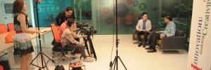 """รมว.วิทยาศาสตร์ฯ ให้สัมภาษณ์ การจัดงาน """"Startup Thailand & Digital Thailand"""" ภูมิภาค"""